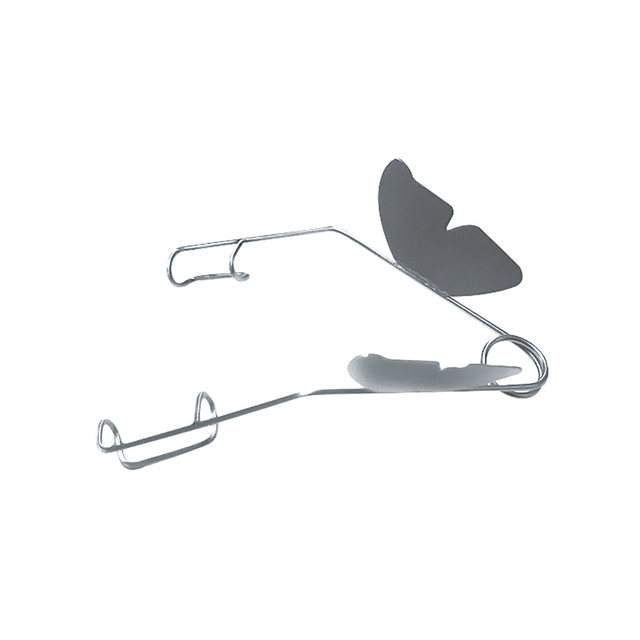 IF-7005 Stainless Steel Alfonso Eye Speculum- Newborn